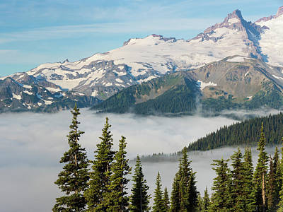 Olympic National Park Photograph - Usa, Washington, Mount Rainier National by Jaynes Gallery