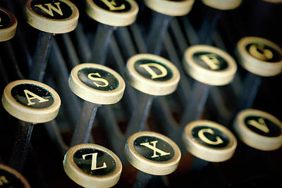 Typewriter Photograph - Usa, Washington, Seabeck by Jaynes Gallery