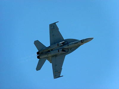Photograph - Usmc Fa18 Hornet by Jeff Lowe