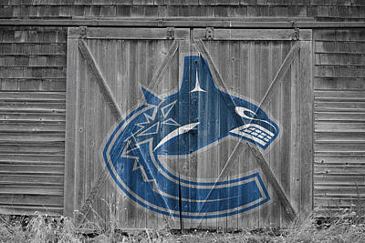 Photograph - Vancouver Canucks by Joe Hamilton