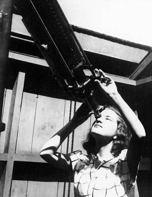 Poughkeepsie Photograph - Vera Rubin by Emilio Segre Visual Archives/american Institute Of Physics
