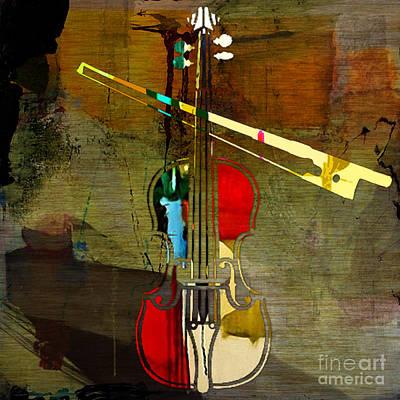 Violin Art Print by Marvin Blaine