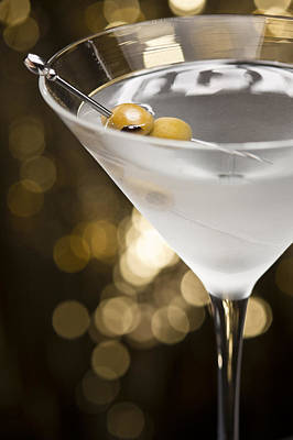 Martini Royalty-Free and Rights-Managed Images - Vodka Martini  by U Schade