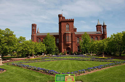 Smithsonian Photograph - Washington Dc, Smithsonian Headquarters by Lee Foster