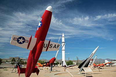 White Sands Missile Range Museum Art Print by Jim West