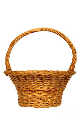 Photograph - Wicker Basket Number Nine by Olivier Le Queinec