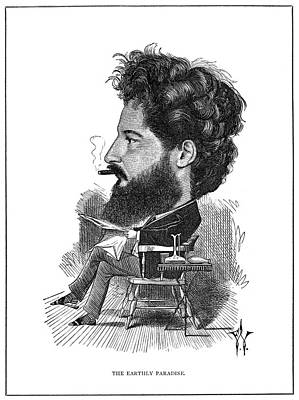 Caricature Artist Painting - William Morris (1834-1896) by Granger