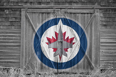 Photograph - Winnipeg Jets by Joe Hamilton