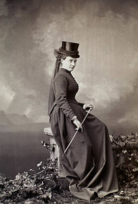 1880s Photograph - Women's Fashion, 1880s by Granger
