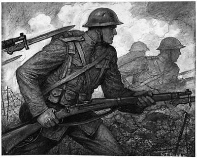 World War I Soldiers Art Print