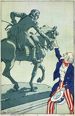 Drawing - Wwi Poster, 1917 by Granger