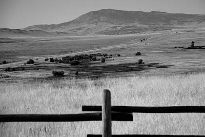 Black Butte Ranch Photograph - Wyoming Landscape by Frank Romeo
