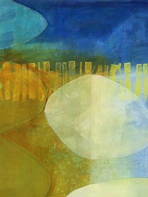 Abstract Painting - 40/100 by Jane Davies
