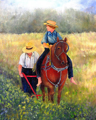 Painting - 40 Acres by Loretta Luglio