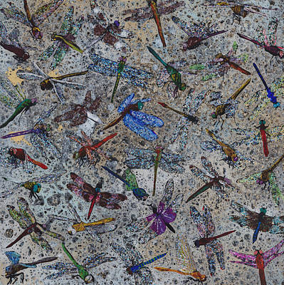 Fluttering Painting - 40 Dragons by Fred Chuang