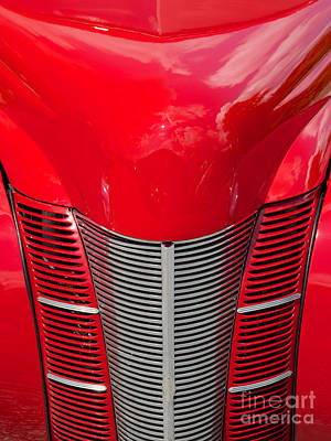 Photograph - 40 Ford Coupe Grill by Mark Dodd