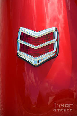 Photograph - 40 Ford Coupe Tail Light by Mark Dodd