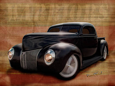 40 Ford Pickup Warriors Art Print