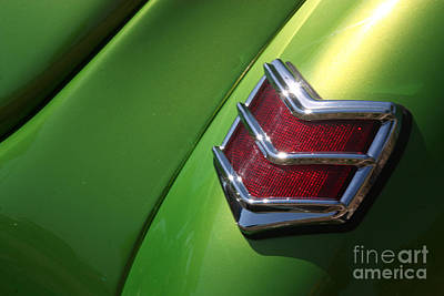 Photograph - 40 Ford - Tail Light-8531 by Gary Gingrich Galleries