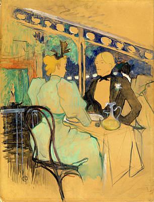 Henri De Toulouse-lautrec French, 1864 - 1901 Art Print
