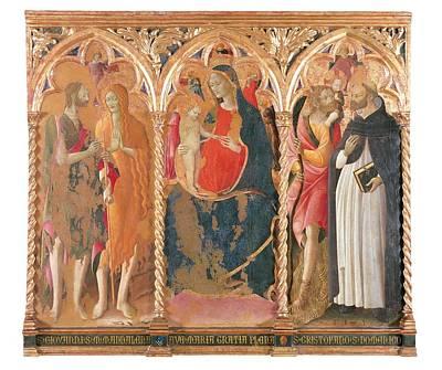 St Mary Magdalene Photograph - Italy, Marche, Pesaro Urbino, Urbino by Everett