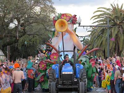 Namaste With Pixels - Krewe of Endymion 2014 Mardi Gras by Sean Gautreaux