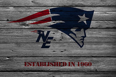 New England Patriots Art Print by Joe Hamilton