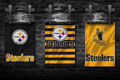 Pittsburgh Steelers Art Print by Joe Hamilton