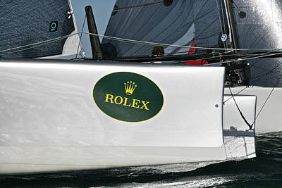 Photograph - Rolex Big Boat Series by Steven Lapkin
