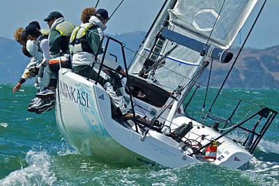 San Francisco Sailing Art Print
