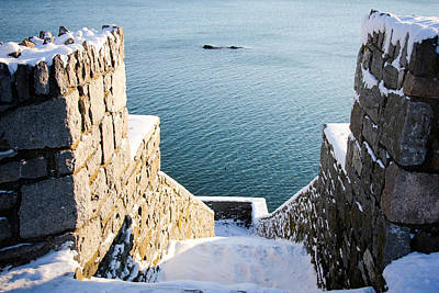 Photograph - 40 Steps In Winter by Allan Millora