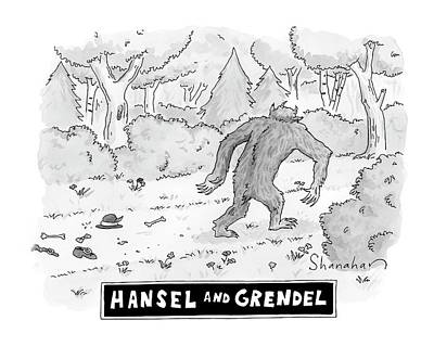 Hansel And Grendel Art Print by Danny Shanahan