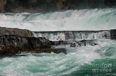 Photograph - 404p Kootenai Falls Close by NightVisions