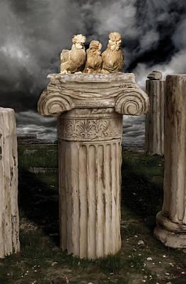 Bird Wall Art - Digital Art - 42. Akropolis Burmahs by Sigrid Van Dort