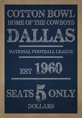 Football Photograph - Dallas Cowboys by Joe Hamilton