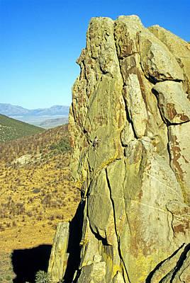 Rock Climb Art Print by Elijah Weber