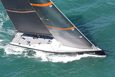 Squall Photograph - Key West Race Week by Steven Lapkin