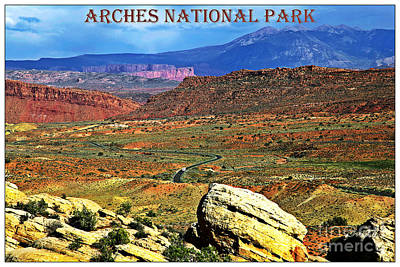 Arches National Park Print by Sophie Vigneault