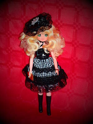 Candy Candy Doll Photograph - Candy Candy Vintage Doll by Donatella Muggianu