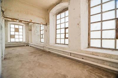 The Beatles - Deserted warehouse by Nikita Buida