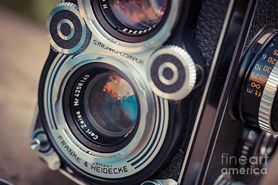 Old Vintage Camera Art Print by Sabino Parente