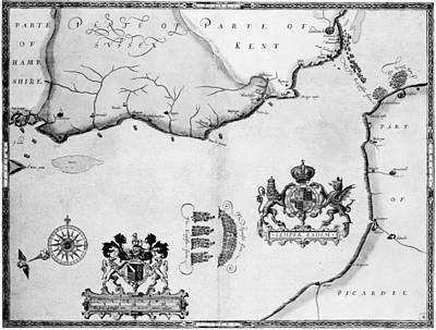 Roberto Photograph - Spanish Armada, 1588 by Granger