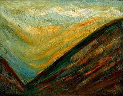 Painting - Splendors Of Himalayas-2 by Anand Swaroop Manchiraju