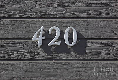 Personalized Name License Plates - 420 by Chris Selby
