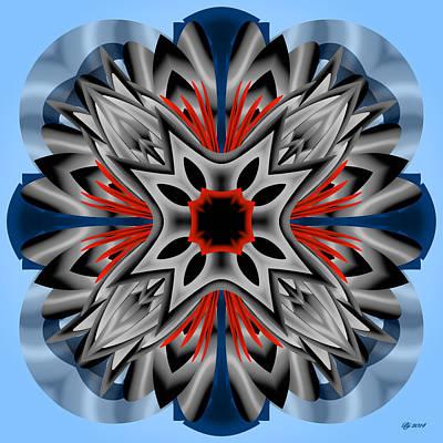 Digital Art - 4200 09 by Brian Johnson