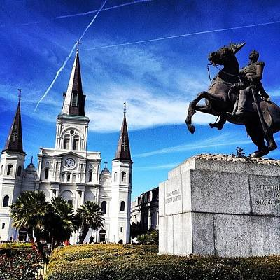 New Orleans Wall Art - Photograph - Jackson Square Park by Jenna Zickerman