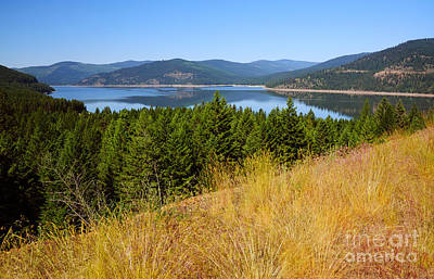 Photograph - 421p Lake Koocanusa Montana by NightVisions