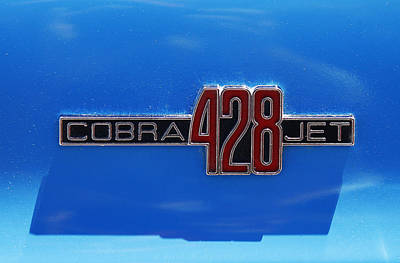 Photograph - 428 Cobra Jet by Morris  McClung