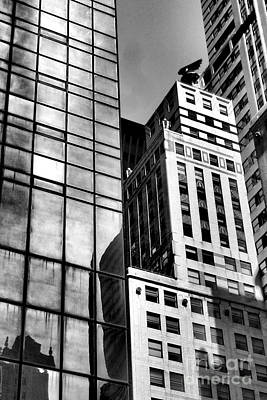 Photograph - 42nd Street And Chrysler Building by Miriam Danar