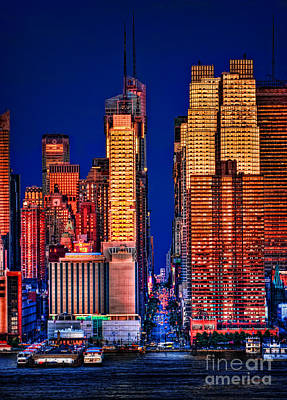 Skylines Royalty-Free and Rights-Managed Images - 42nd Street by Susan Candelario
